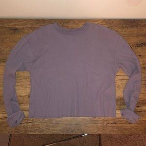 NWOT Purple long sleeve